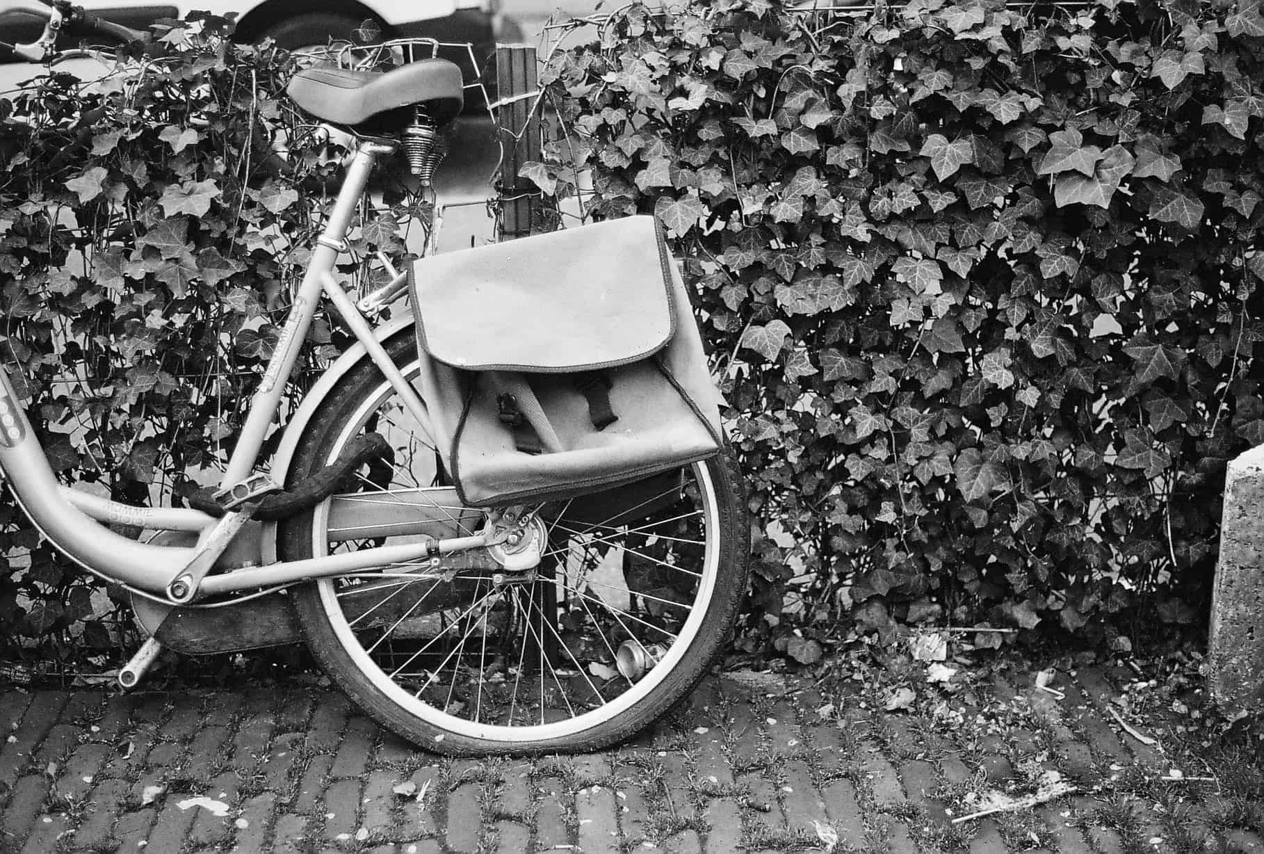 Flat Bicycle Tire Amsterdam
