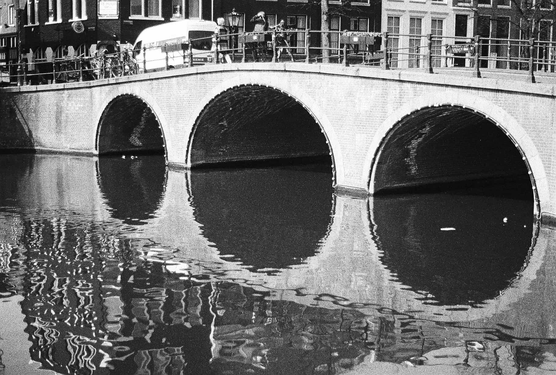 Canal Reflections Amsterdam