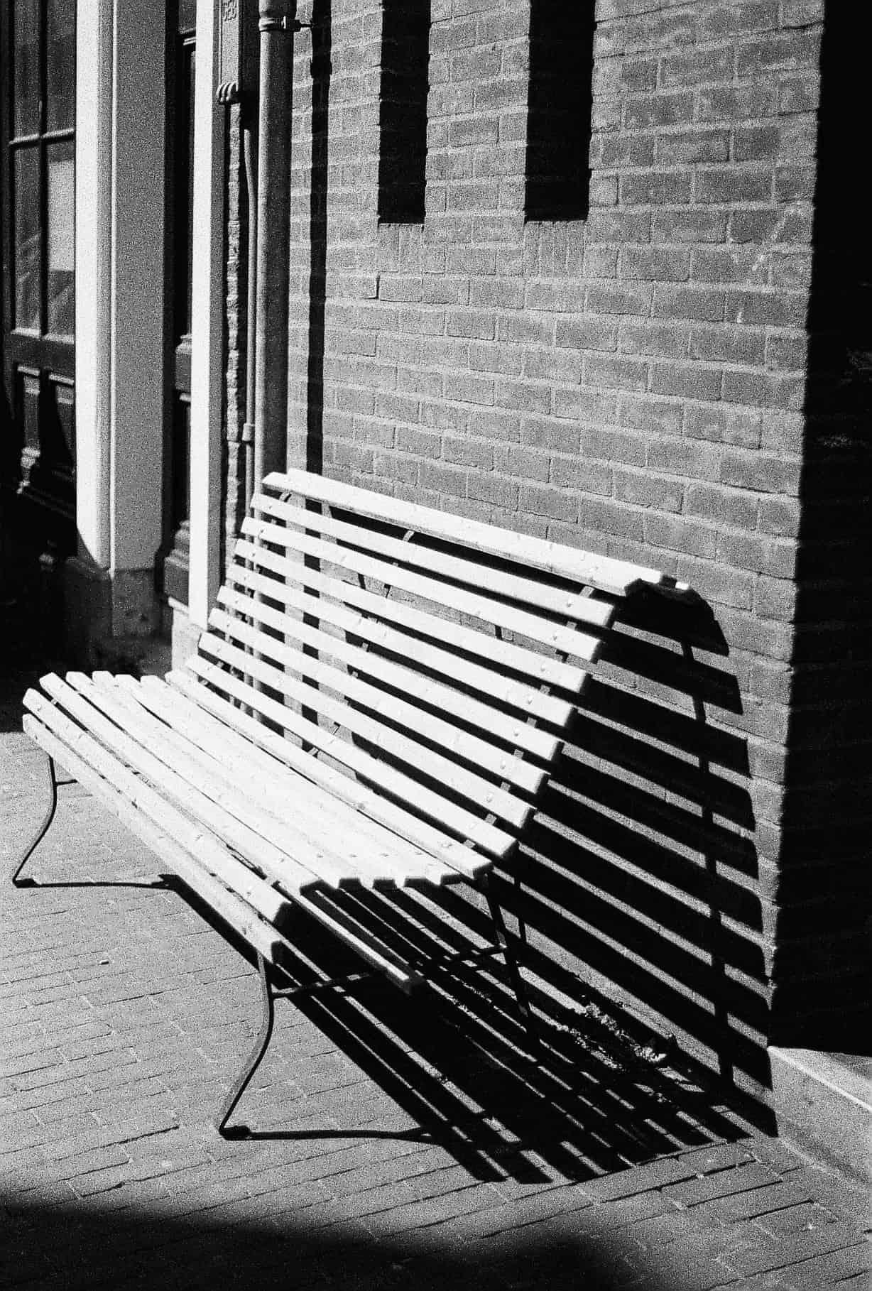 Amsterdam Bench Shadows