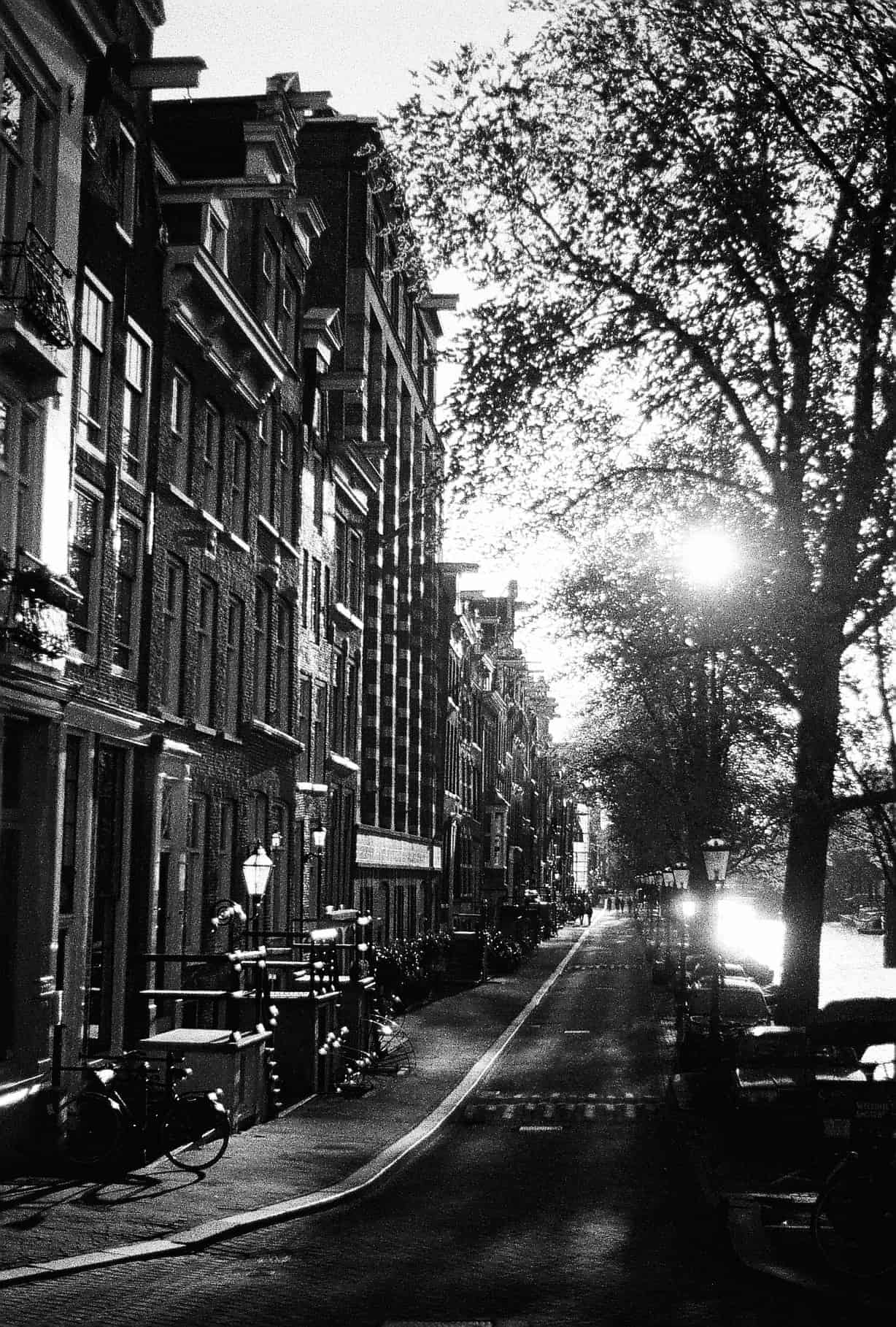 Amsterdam in Black-and-White
