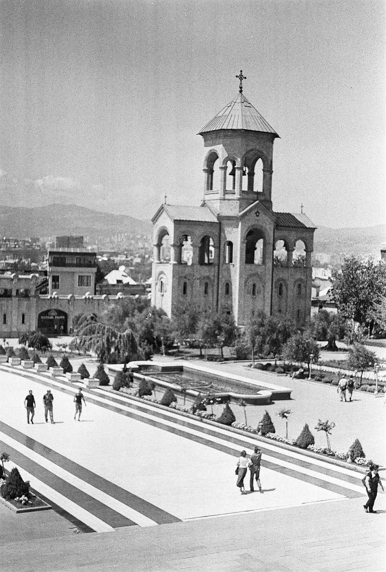 Tbilisi in Black-and-White