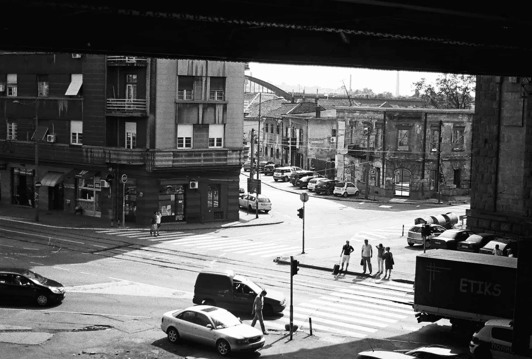 Underpass in Belgrade