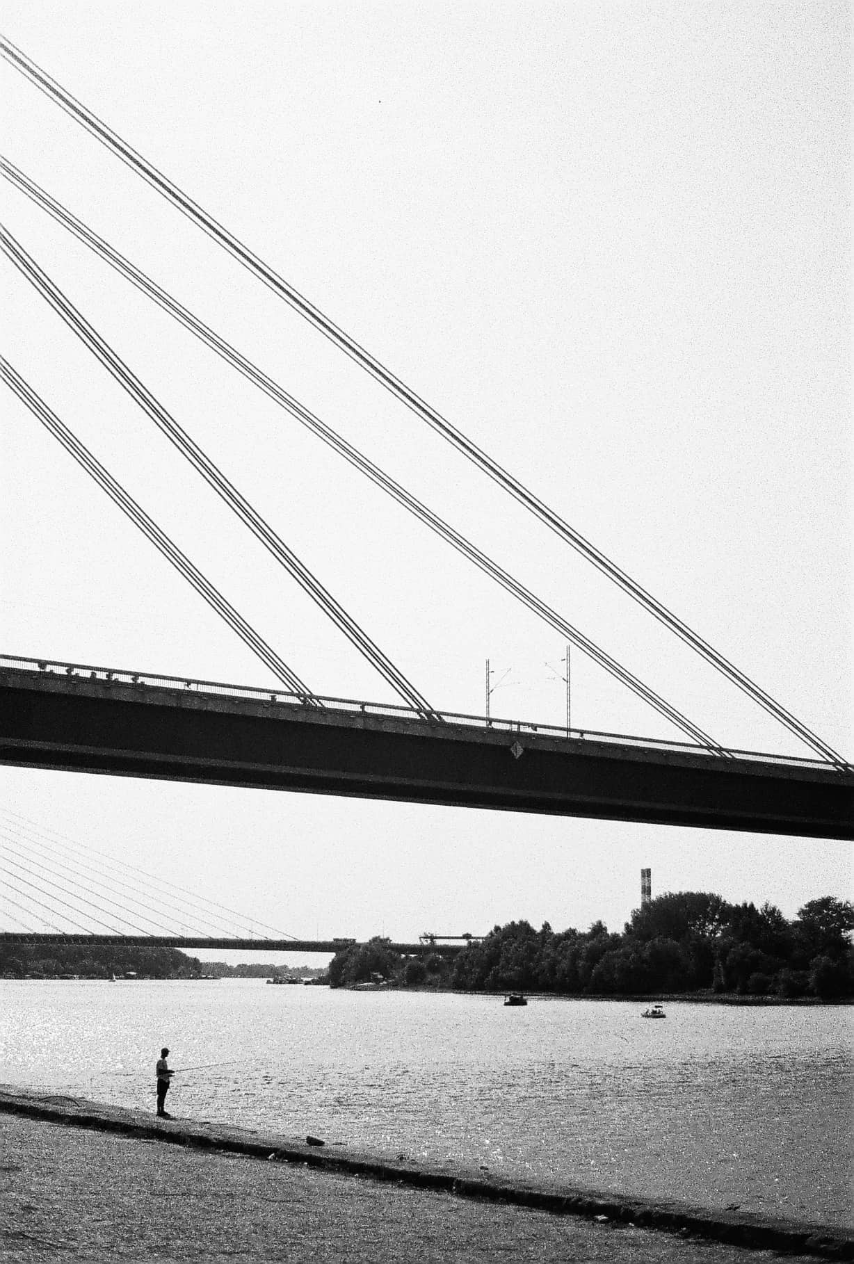 Belgrade in Black-and-White
