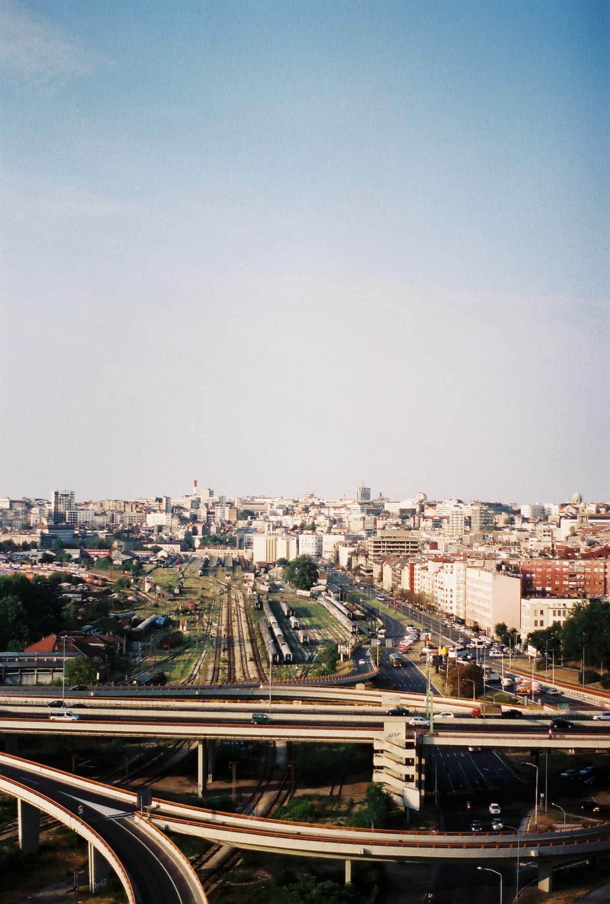 Belgrade Viewed from BIGZ
