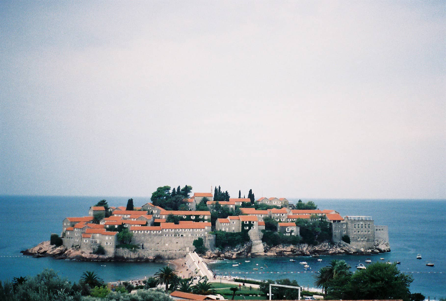 Sveti Stefan: The Drama Of A Cloudy Day