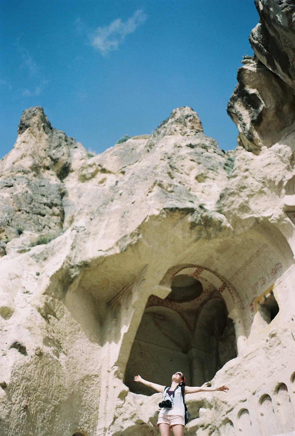 Lucy in Cappadocia