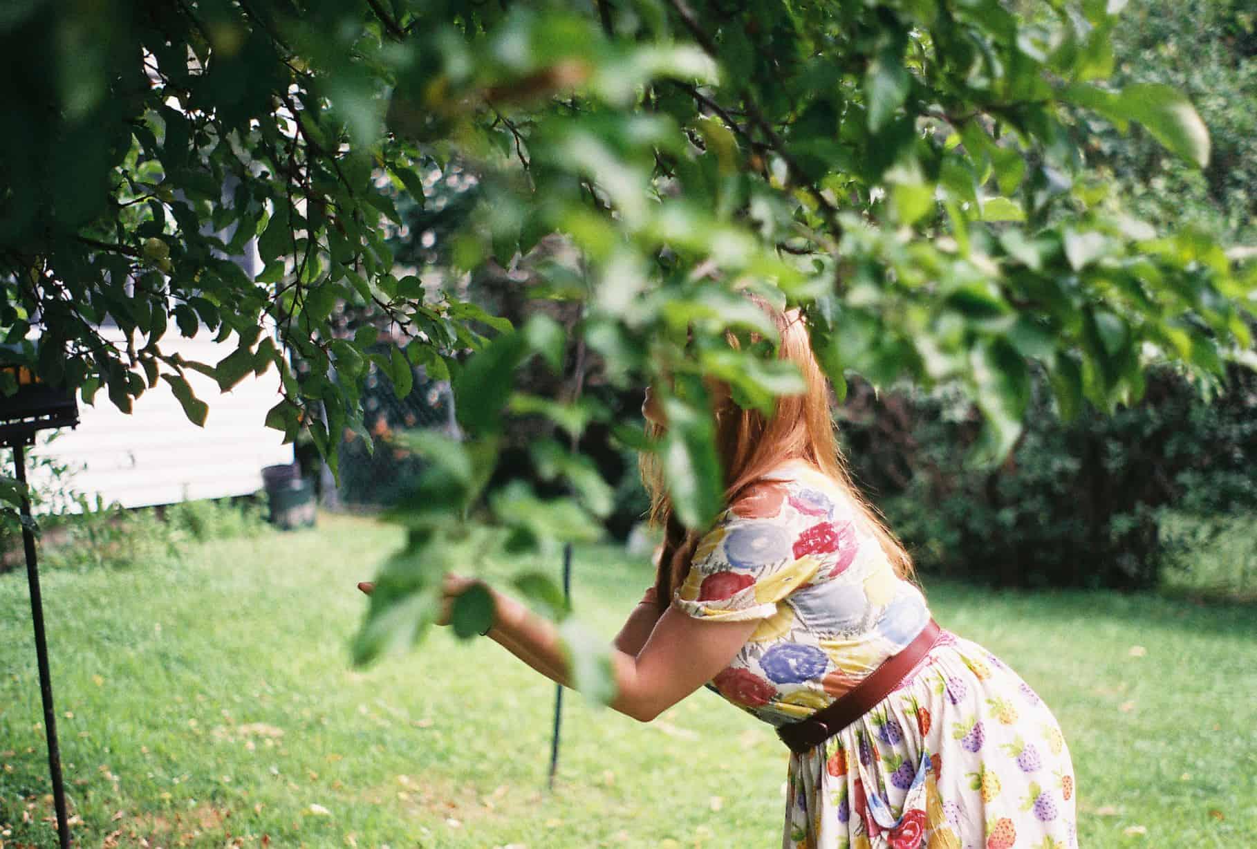 Hillary In The Backyard