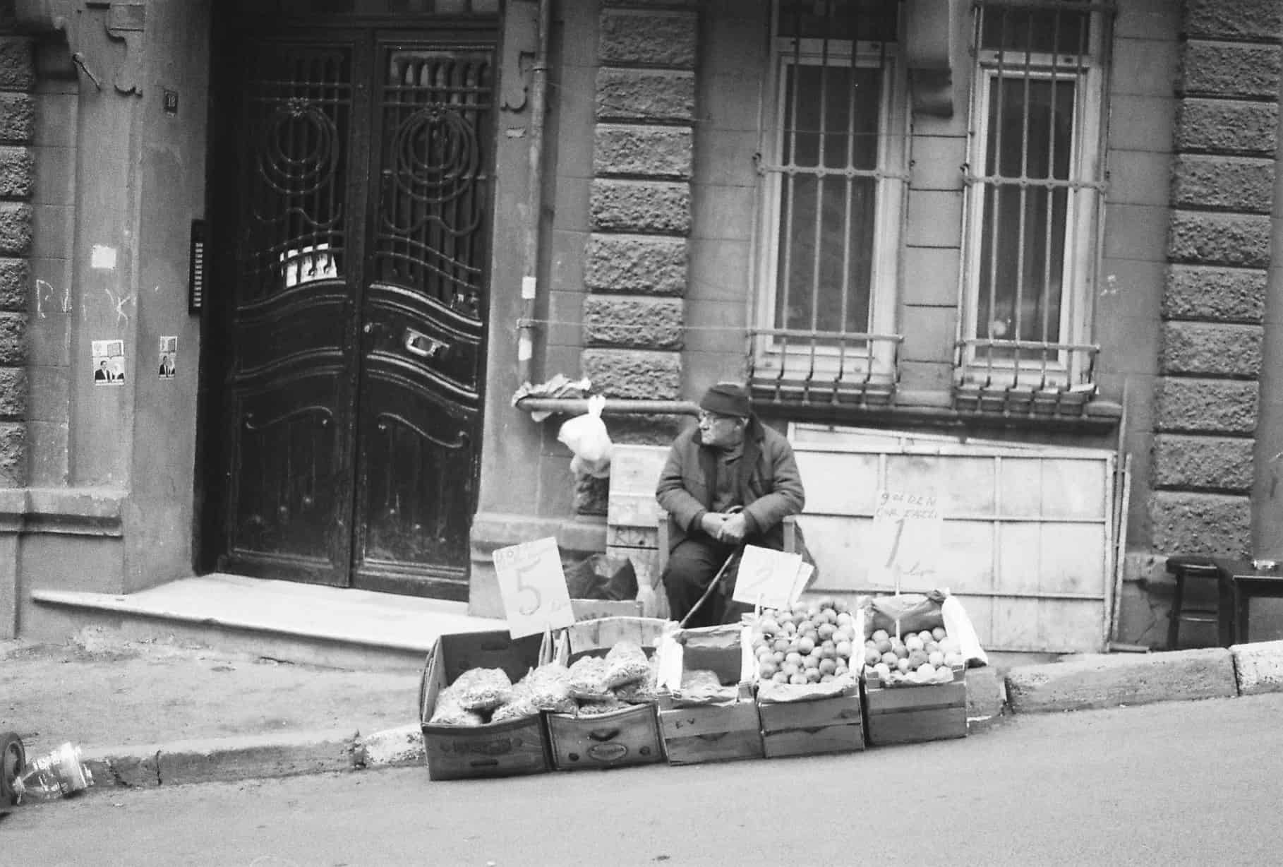 Tarlabasi Streets (Istanbul in Black-and-White)