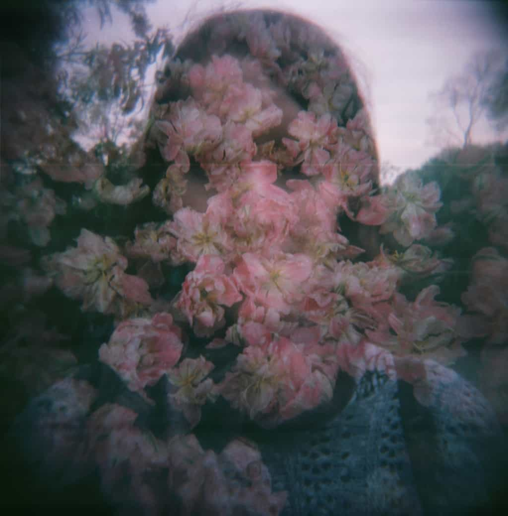 Lucy Flower Face Holga