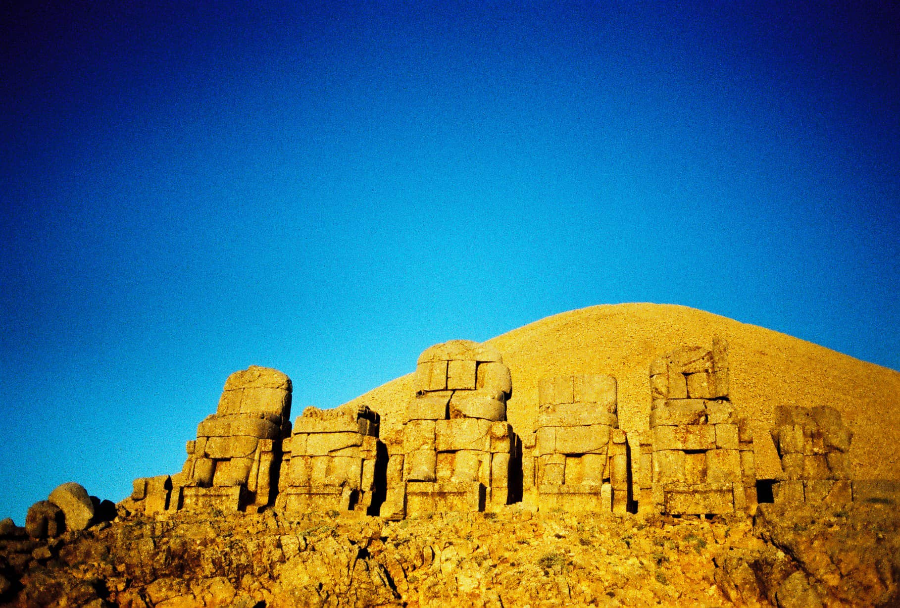 Tomb of a King on Nemrut