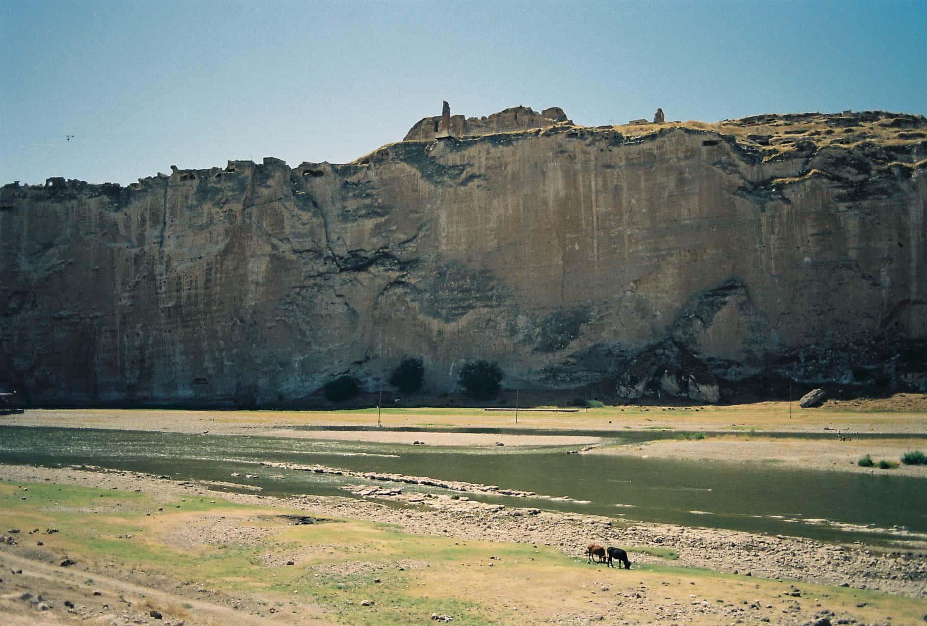 Cliffs of Hasankeyf