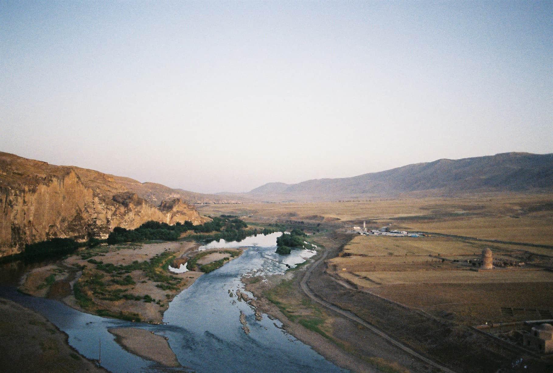 The Tigris River at Sunrise