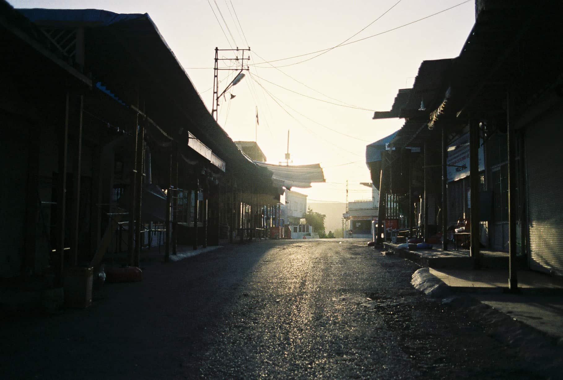 Empty Hasankeyf Market