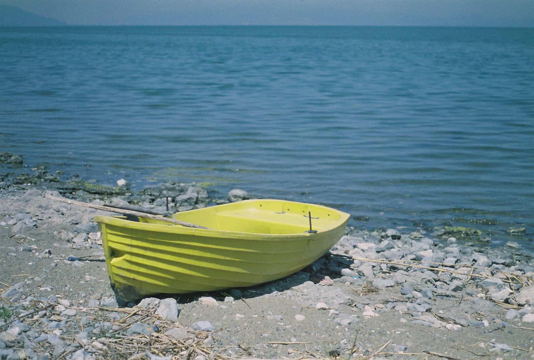A Boat On Lake Iznik