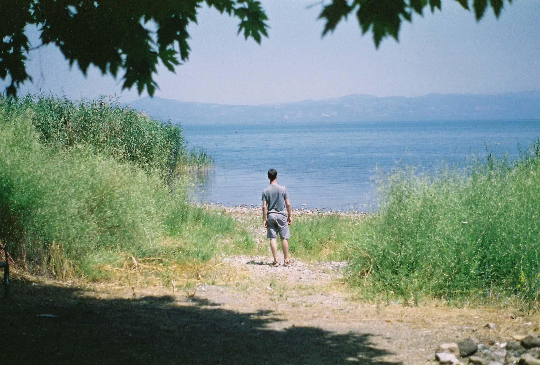 Nacho and Lake Iznik