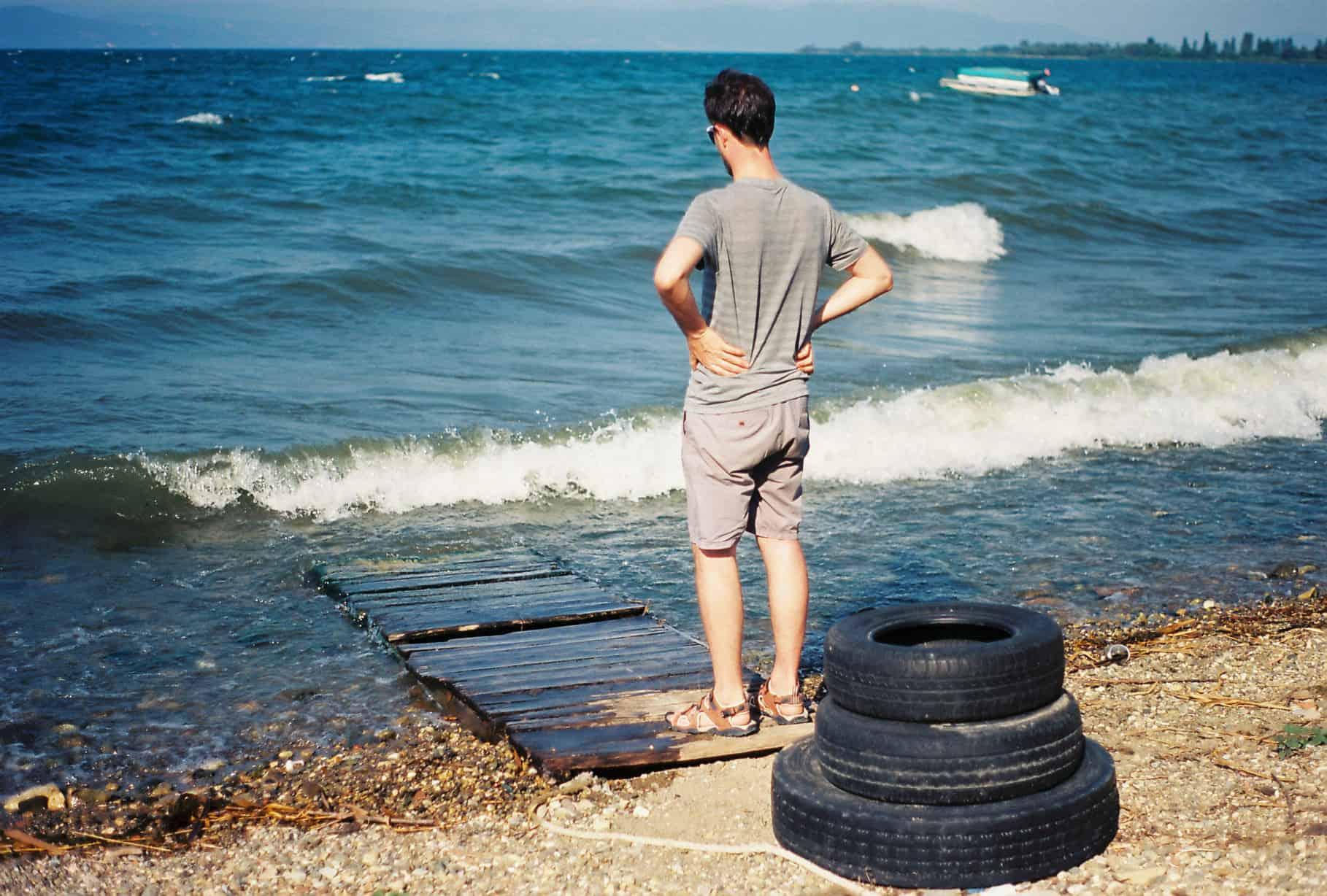 Nacho Looks At Lake Iznik