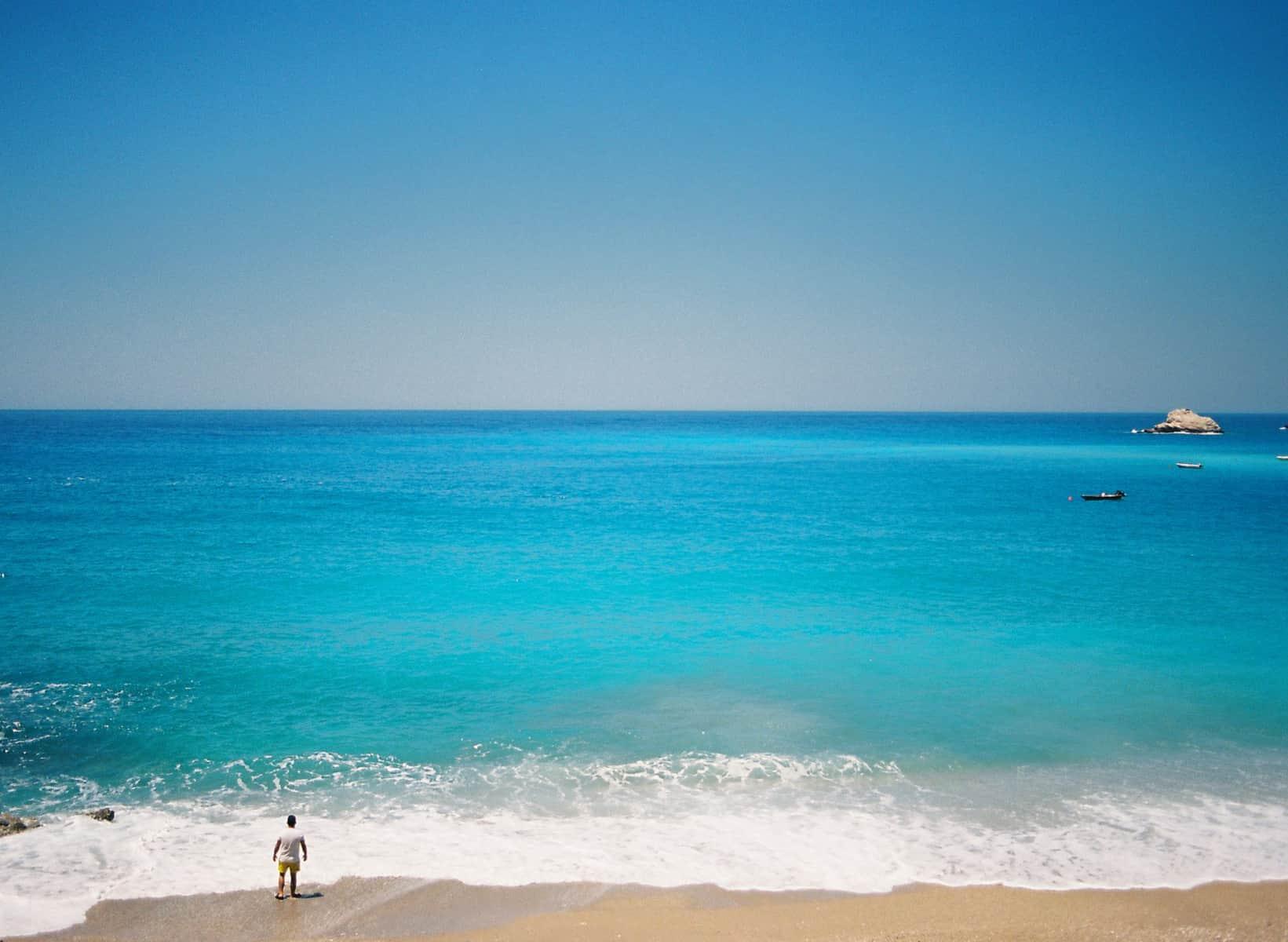 Kabak Beach and Mediterranean