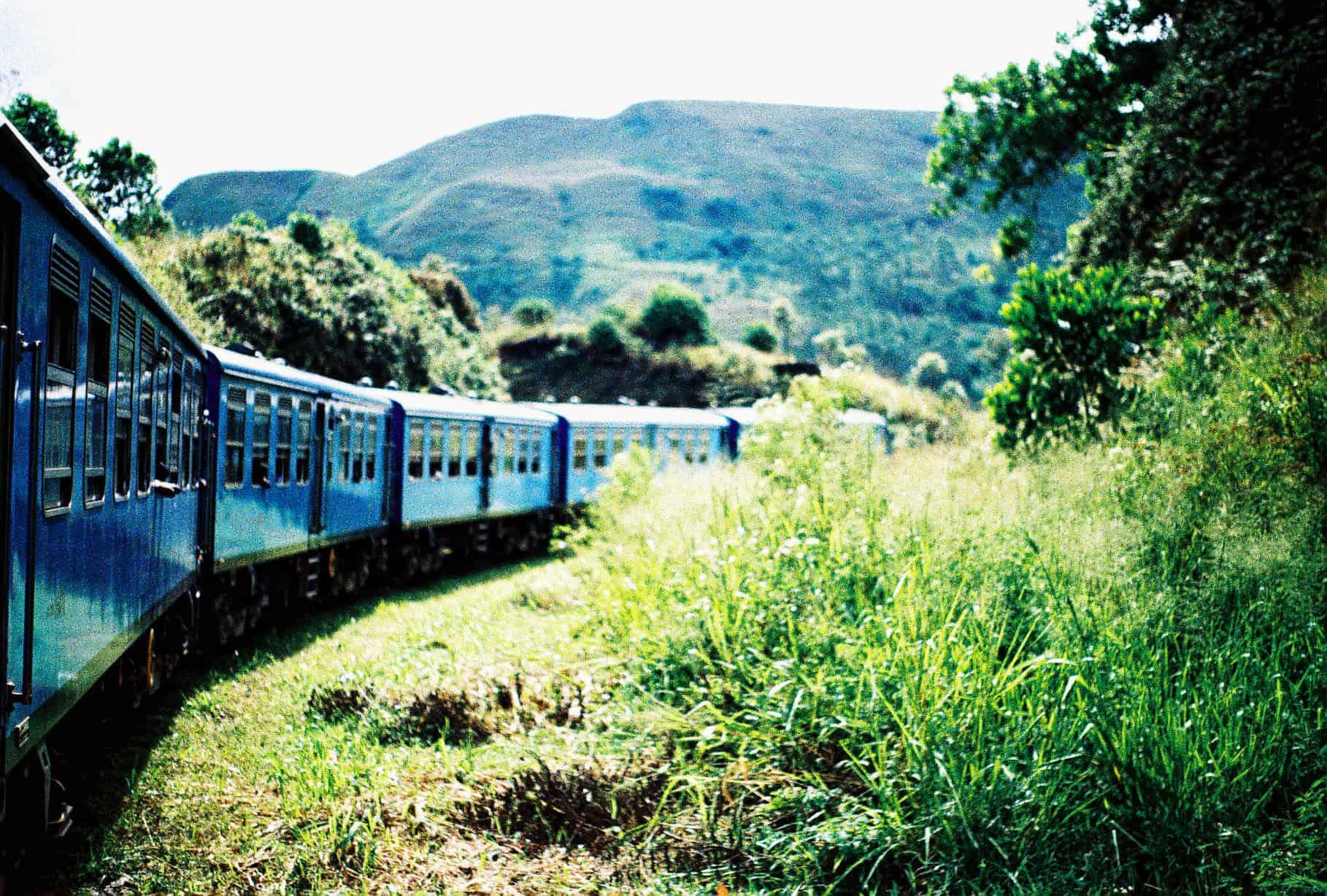 riding trains in sri lanka