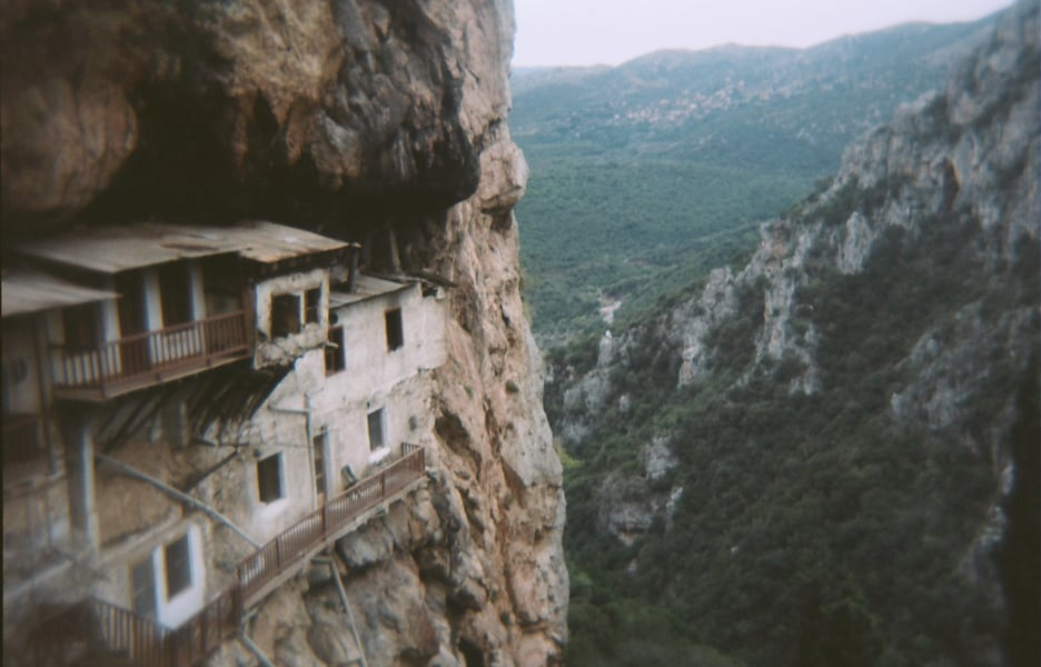Hiking the Lousios Gorge in the Peloponnese