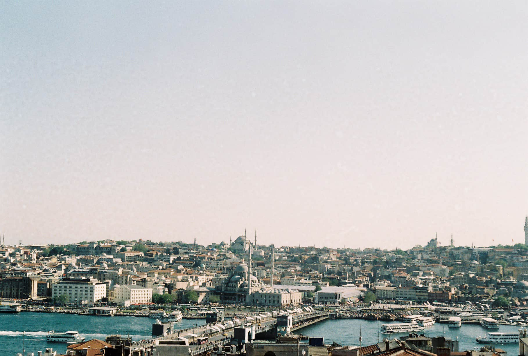 Galata cafe views. Exceptional Istanbul.