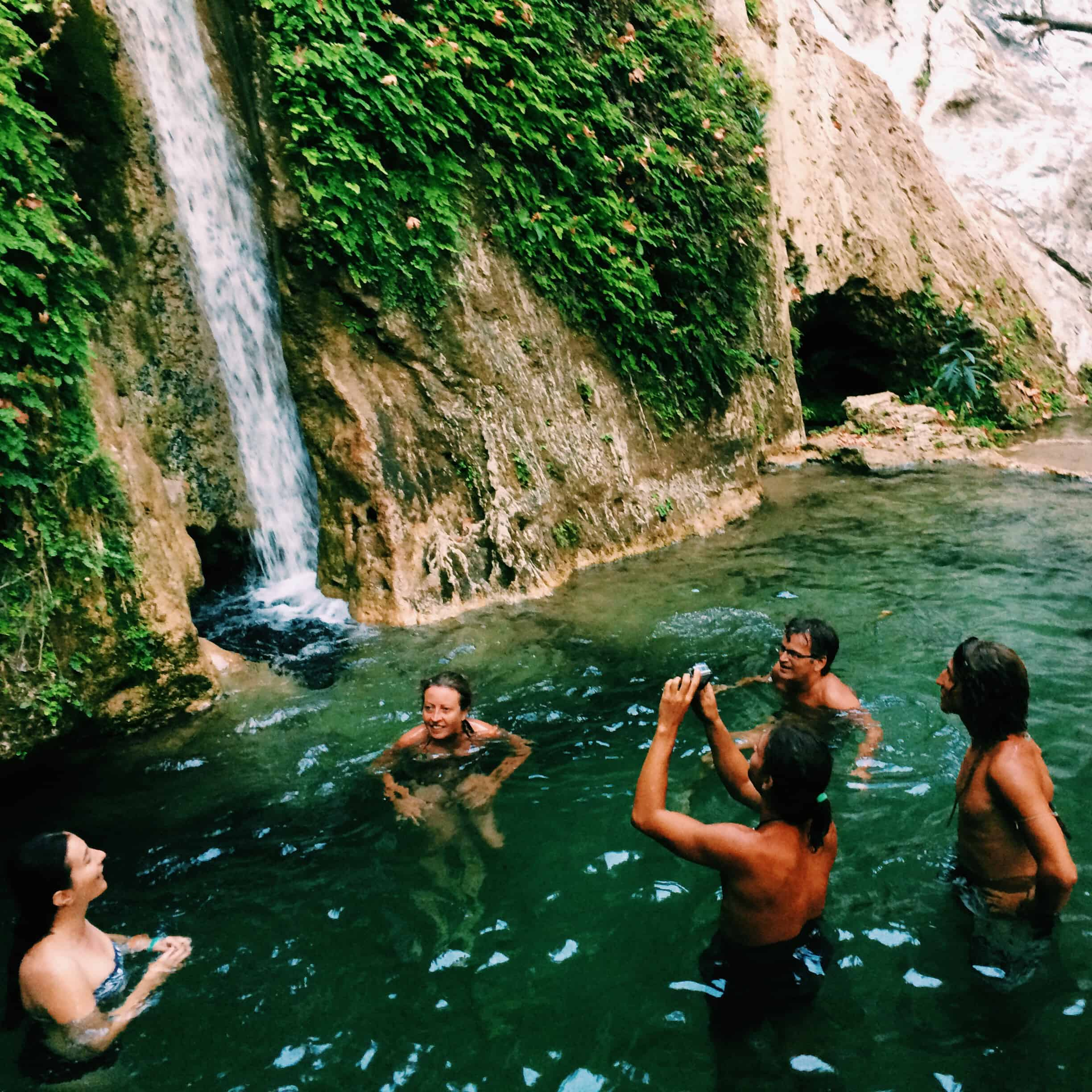 Kabak waterfalls.