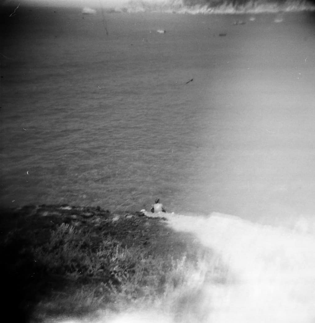 Reading on Vacation. Kabak, Turkey with a Holga.