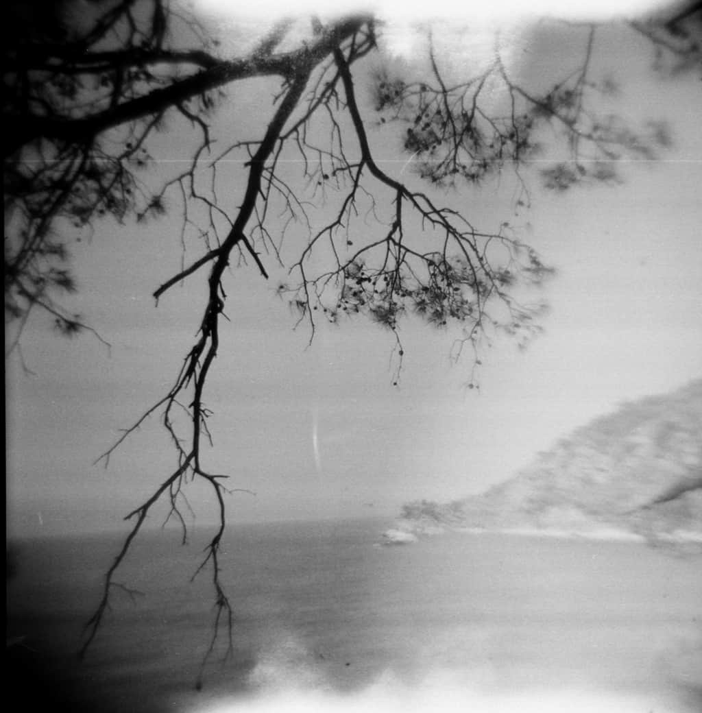 Reading on Vacation. Holga views of Kabak.