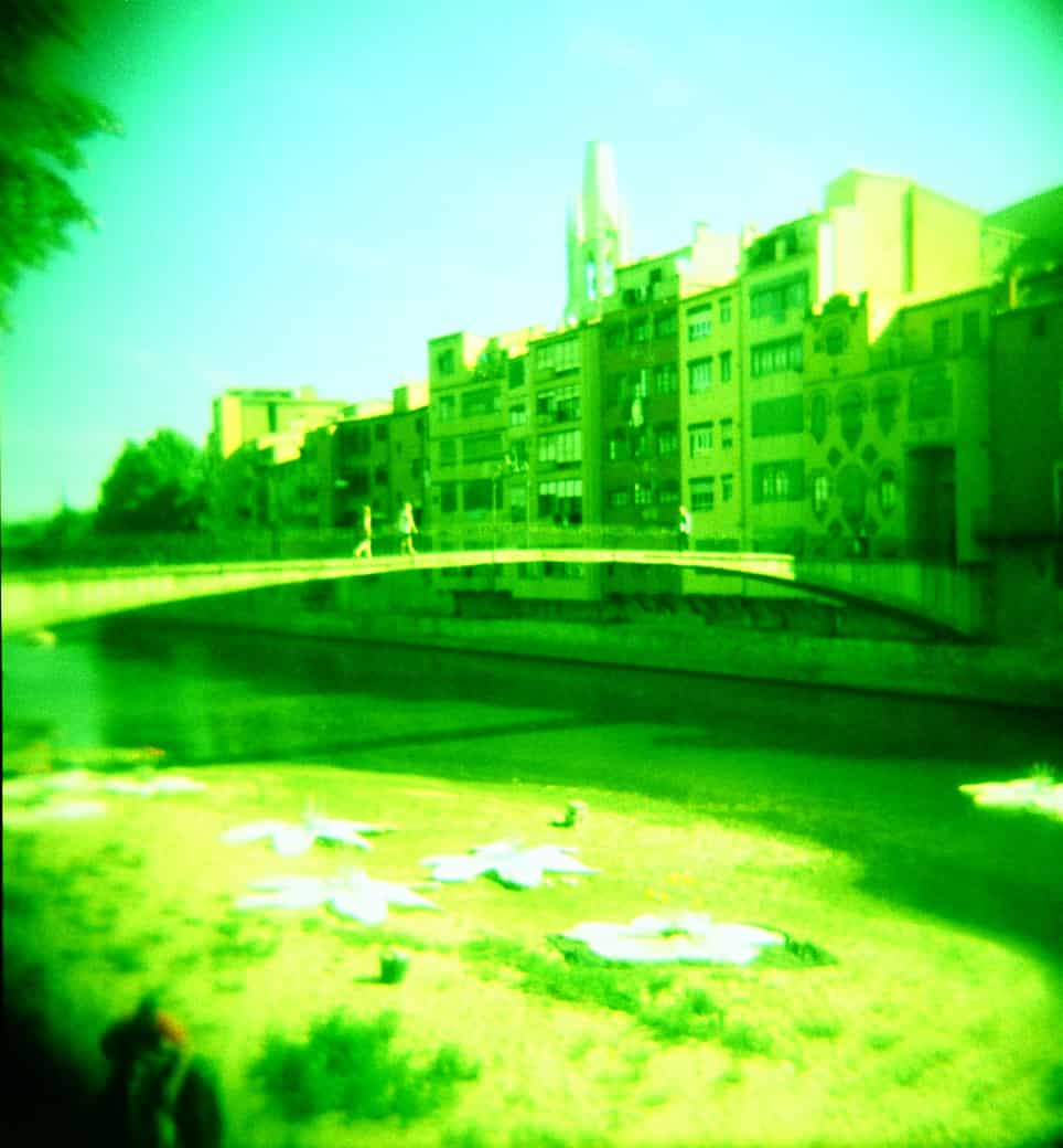 Girona through a Holga