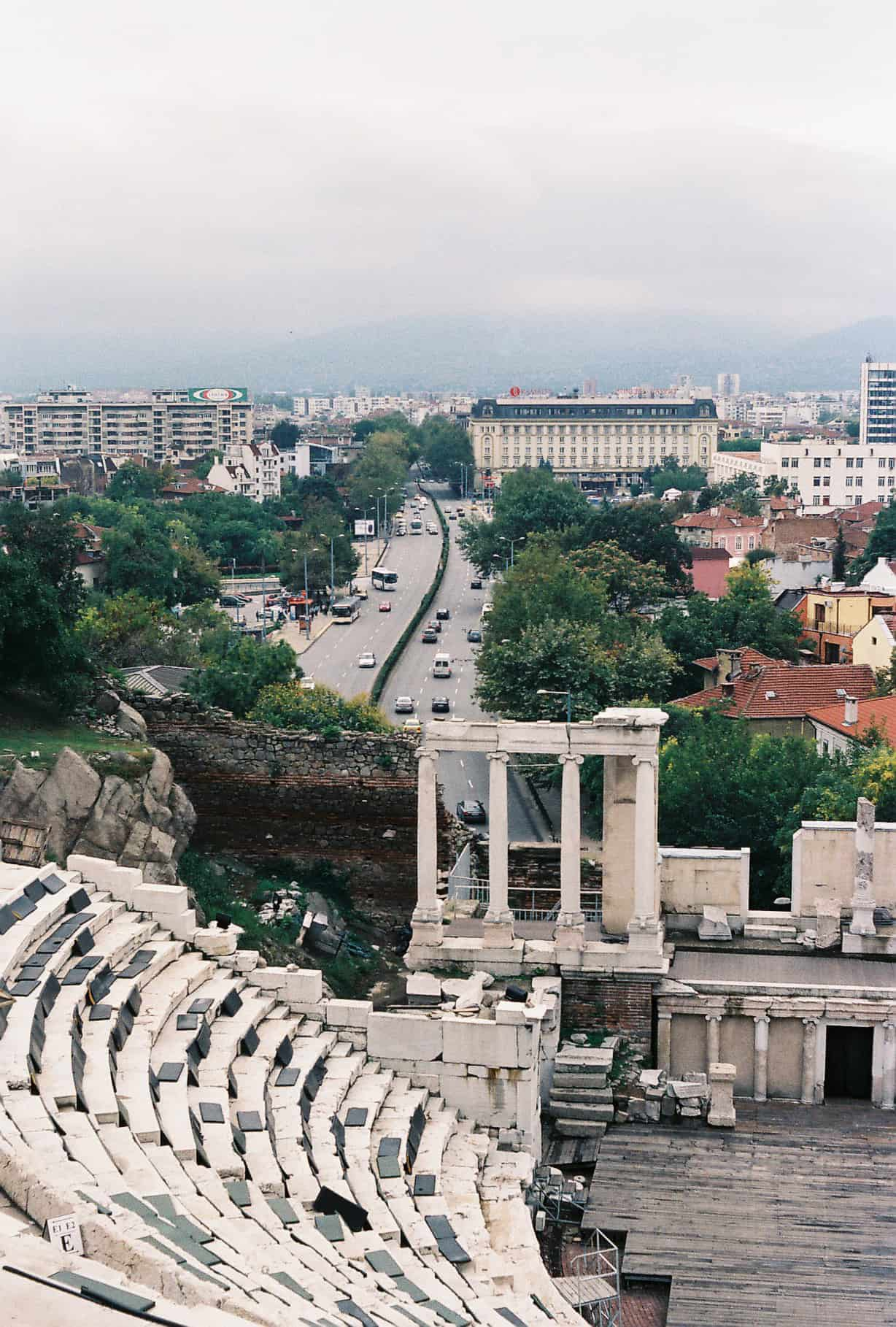 Monuments in Plovdiv, Bulgaria