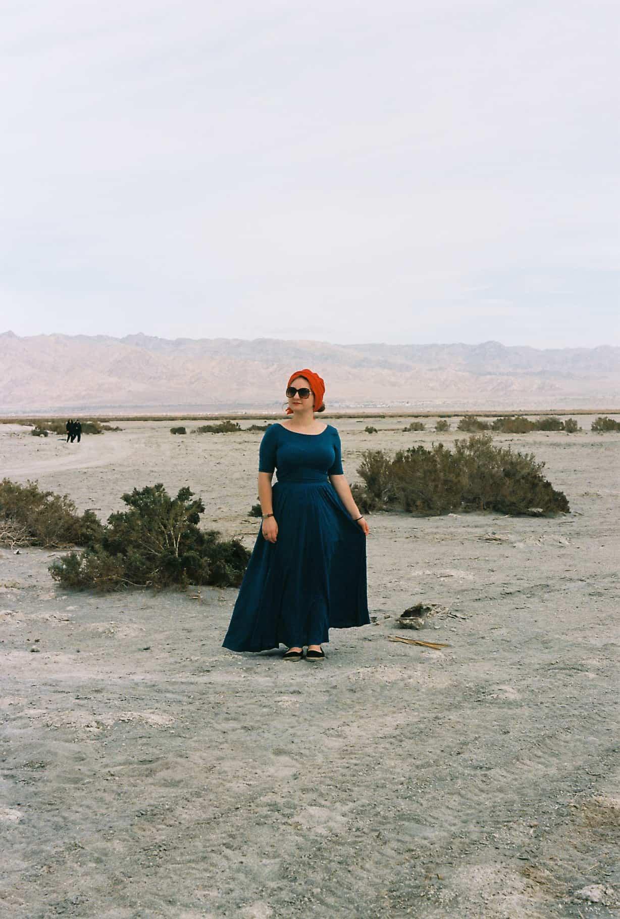 Katrinka at Salton Sea