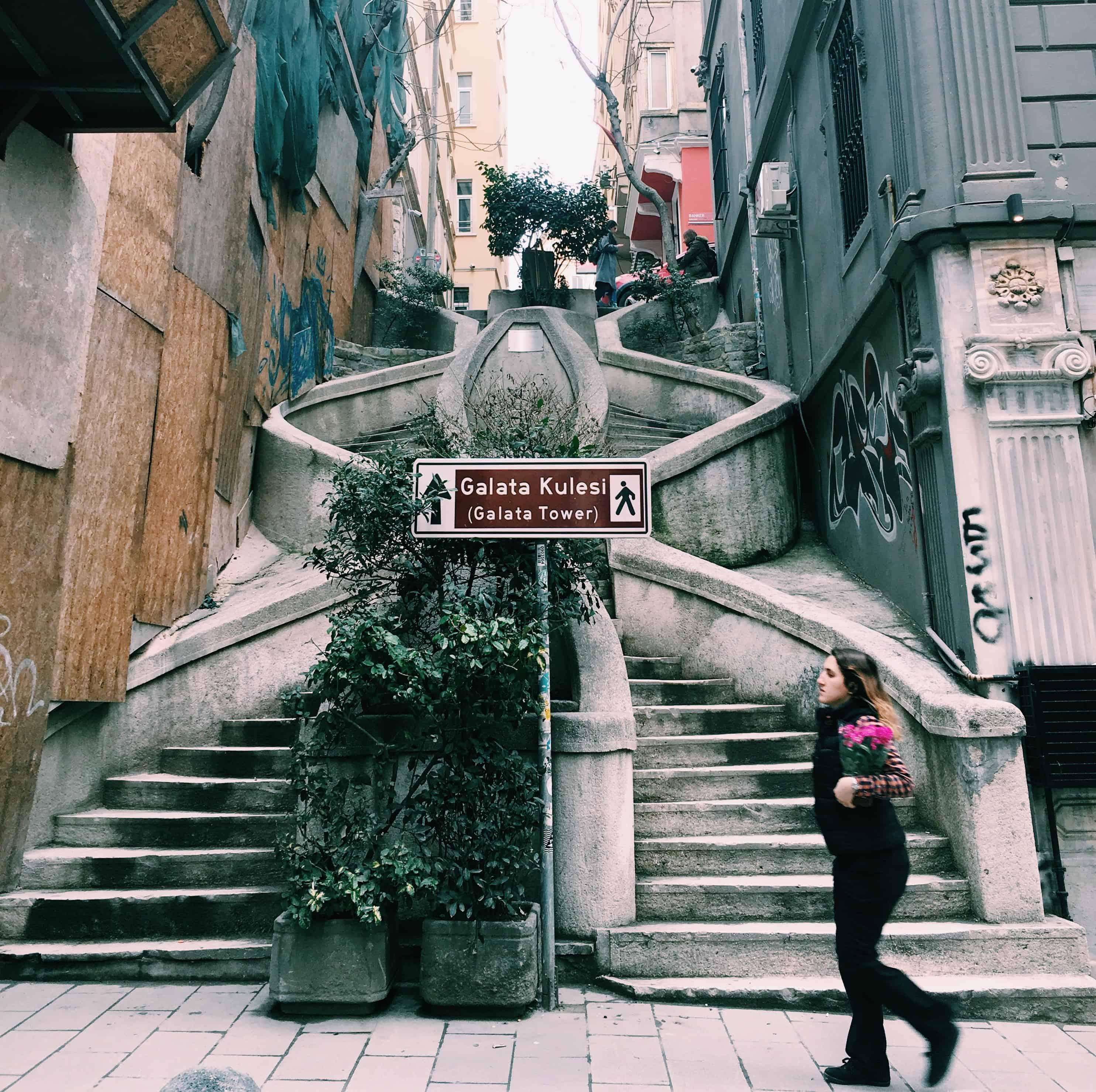 Camondo Steps, Istanbul, Turkey