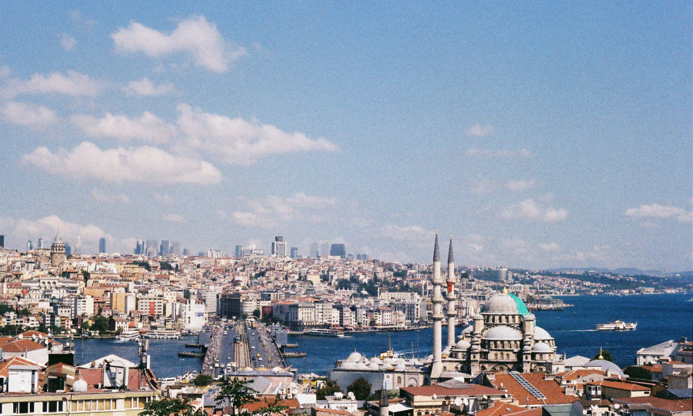The Best View In Istanbul: Buyuk Valide Han