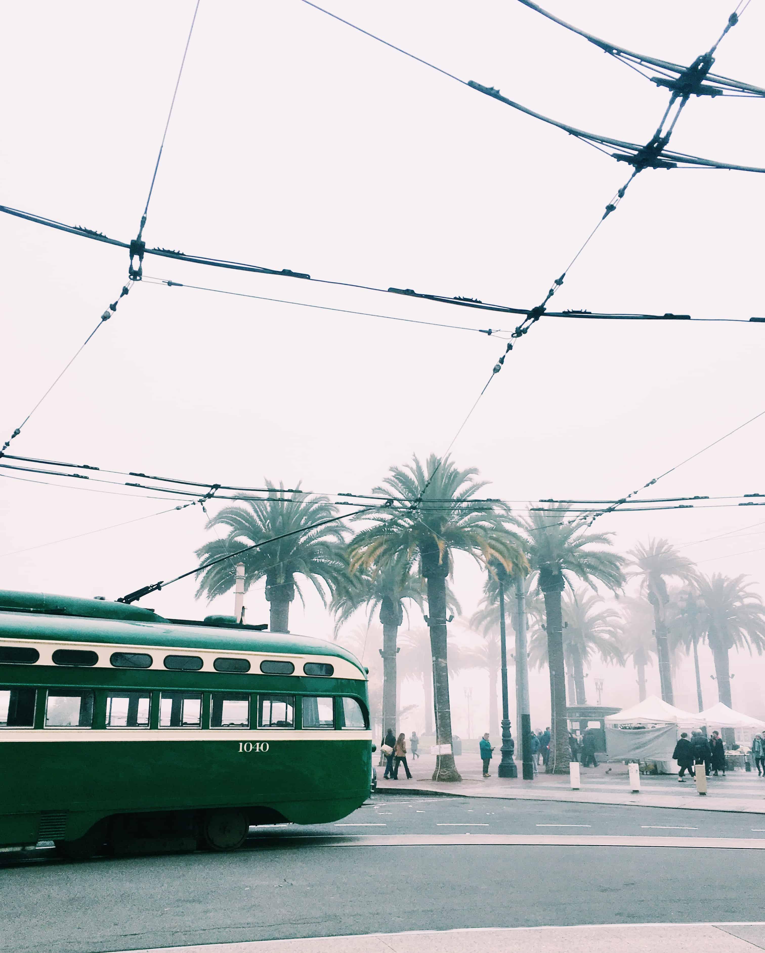 December in California